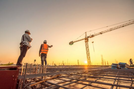 Hiking trends of construction industry